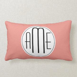 Monogram Template Throw Cushion