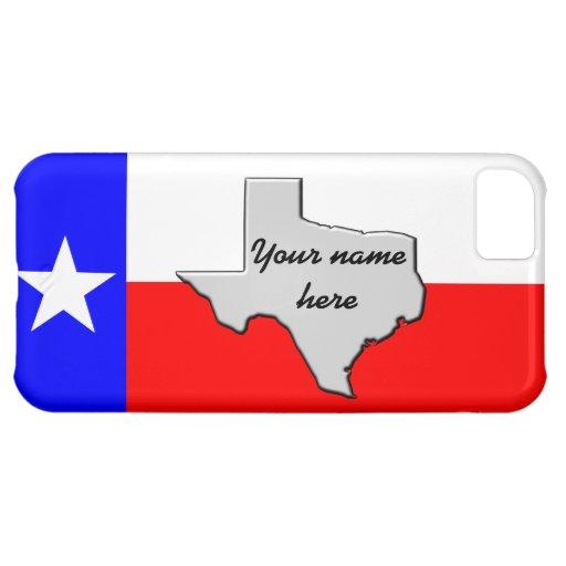 Monogram Texas Pride case Case For iPhone 5C