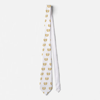 Monogram Tie