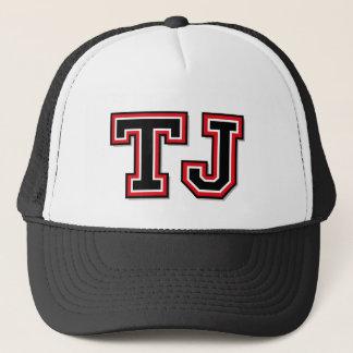 Monogram 'TJ' Trucker Hat