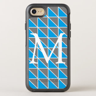Monogram Triangle Phone Case