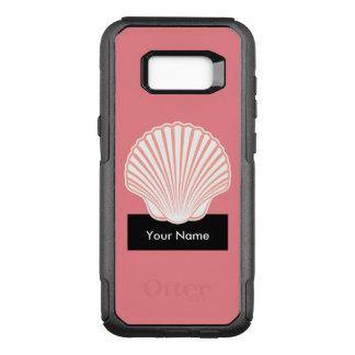 Monogram Tropical Design OtterBox Commuter Samsung Galaxy S8+ Case