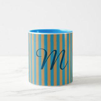 Monogram Two Tone Two-Tone Coffee Mug