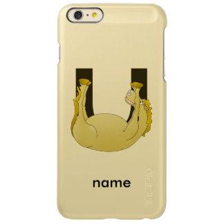 Monogram U Cute Pony Customized Incipio Feather® Shine iPhone 6 Plus Case