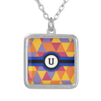Monogram U Personalized Necklace