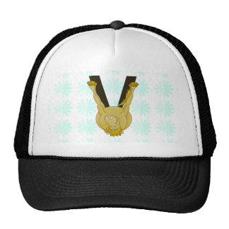 Monogram V Flexible Horse Personalised Trucker Hat