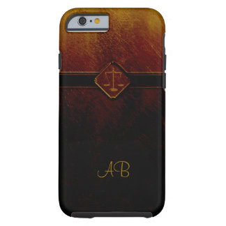 Monogram | Vintage Scales of Justice Tough iPhone 6 Case