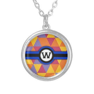 Monogram W Custom Necklace