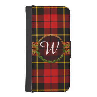 Monogram Wallace Tartan iPhone SE/5/5s Wallet Case