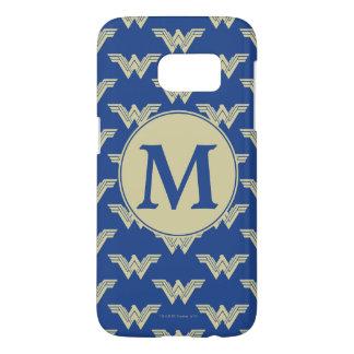 Monogram Wonder Woman Logo Pattern