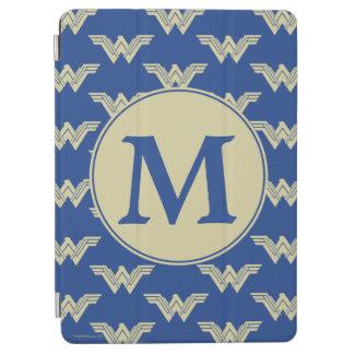 Monogram Wonder Woman Logo Pattern iPad Air Cover