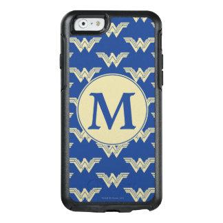 Monogram Wonder Woman Logo Pattern OtterBox iPhone 6/6s Case