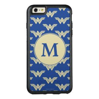 Monogram Wonder Woman Logo Pattern OtterBox iPhone 6/6s Plus Case