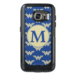 Monogram Wonder Woman Logo Pattern OtterBox Samsung Galaxy S7 Case