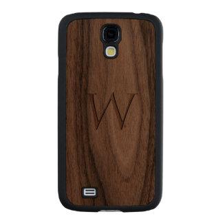 Monogram Walnut Galaxy S4 Slim Case