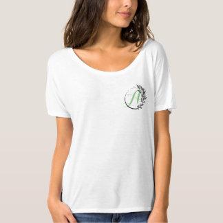 Monogram wreath T-Shirt
