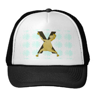 Monogram X Agile Pony Customized Mesh Hats
