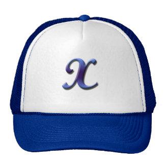 Monogram X Hat