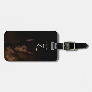 Monogram Xoloitzcuintle Coated Luggage Tag