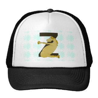 Monogram Z Agile Pony Personalized Trucker Hat
