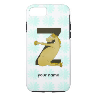 Monogram Z Funny Pony Customized iPhone 7 Case