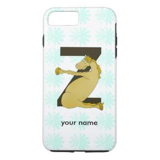 Monogram Z Funny Pony Customized iPhone 7 Plus Case