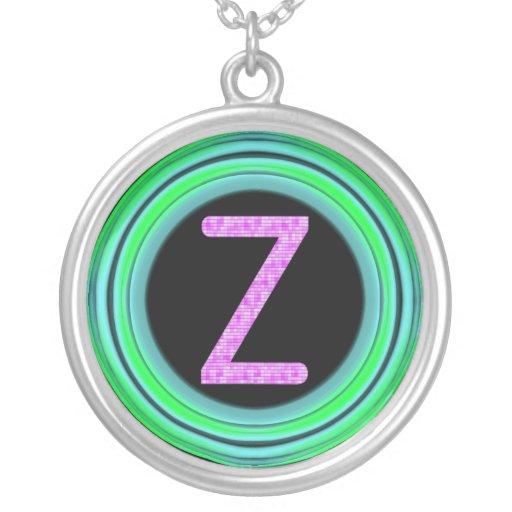 """Monogram """"Z"""" Custom Jewelry"""