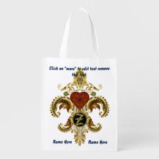 Monogram Z Shopping Bag Reusable
