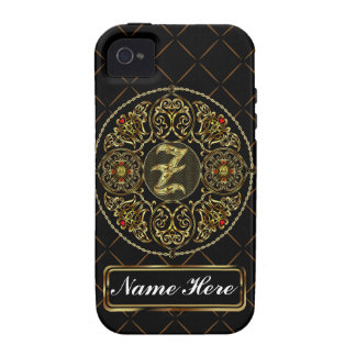 Monogram Z Vibe Important View Notes Please iPhone 4 Covers