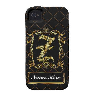 Monogram Z Vibe Important View Notes Please iPhone 4/4S Case