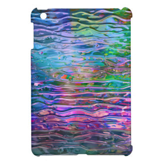 Monogramed Colorful Abstract Melting Class iPad Mini Covers