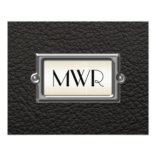Monogrammed 3-Letter Executive Men's Personalised 11.5 Cm X