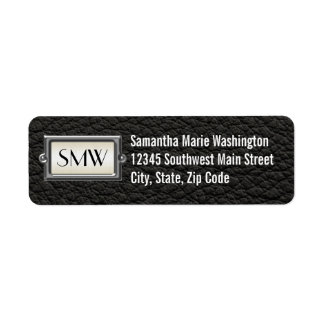 Monogrammed 3-Letter Executive Men's Personalized