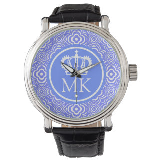 Monogrammed Blue Peddler Big Boss Wristwatches