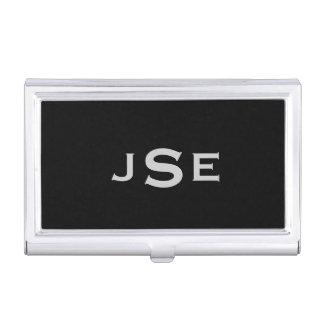 Monogrammed Business Card Holders