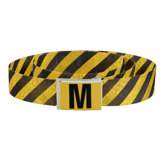 Monogrammed Caution Belt