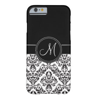 Monogrammed Damask iPhone 6/6s case Barely There iPhone 6 Case