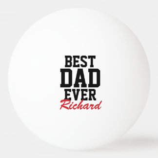Monogrammed Father's Day Ping Pong Balls