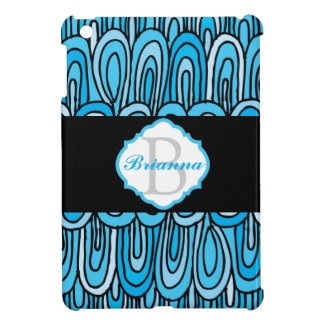 Monogrammed Geometric iPad Mini Case