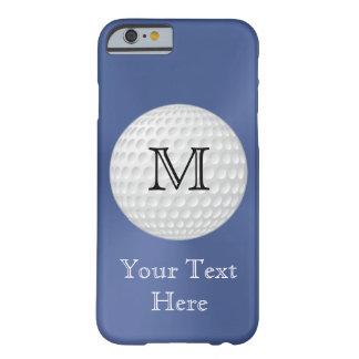 Monogrammed Golf iPhone Case for Men