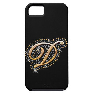Monogrammed iPhone 5 Vibe Case - Letter D iPhone 5 Case