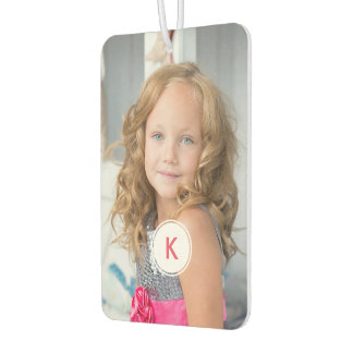 Monogrammed Personalized Photo Auto Decoration Car Air Freshener