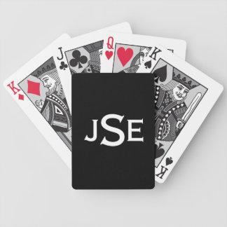 Monogrammed Card Decks