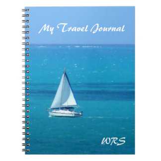Monogrammed Sailing Travel Journal