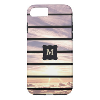 Monogrammed sky scene iPhone 8/7 case
