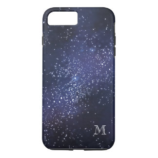 Monogrammed Sky With Stars iPhone 8 Plus/7 Plus Case