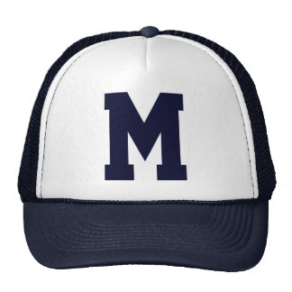 Monogrammed Superstar Navy Blue Cap