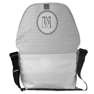 Monogrammed  Sway Parade Letter M Commuter Bags