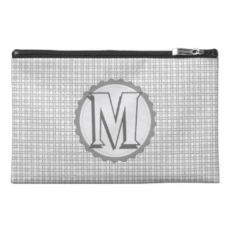 Monogrammed  Sway Parade Letter M Travel Accessory Bags