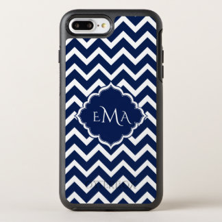 Monogrammed Zigzag Chevron OtterBox Symmetry iPhone 7 Plus Case